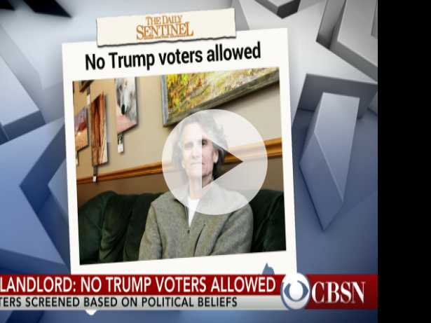Landlord: No Trump Supporters Allowed