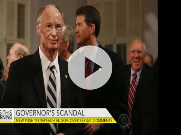 New Push to Impeach Alabama Governor Amid Sex Scandal