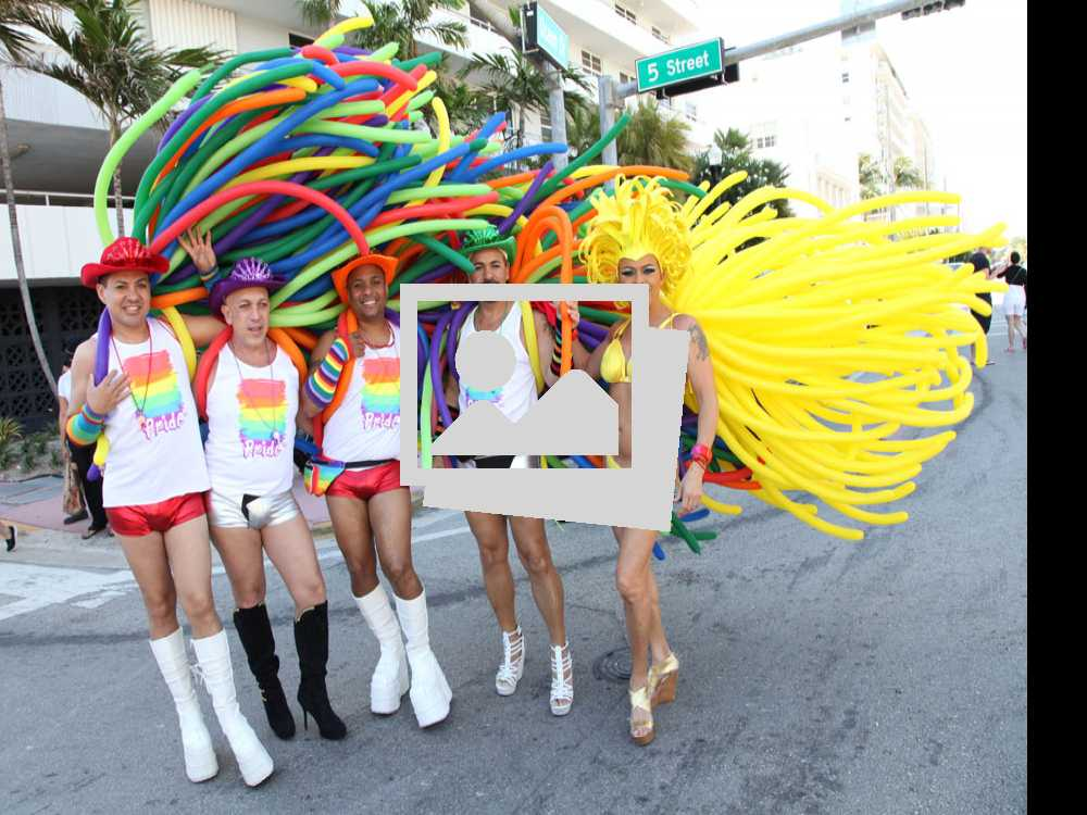 2016 Miami Beach Gay Pride Parade Part One  :: April 10, 2016