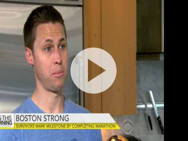 Boston Bombings Survivors Mark Milestone by Completing Marathon