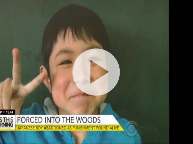 Japanese Boy Found After Being Abandoned in Woods as Punishment