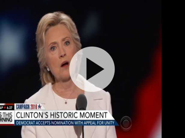Clinton's Historic Night