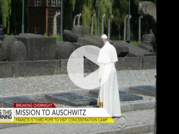 Pope Francis Becomes Third Pontiff to Visit Auschwitz