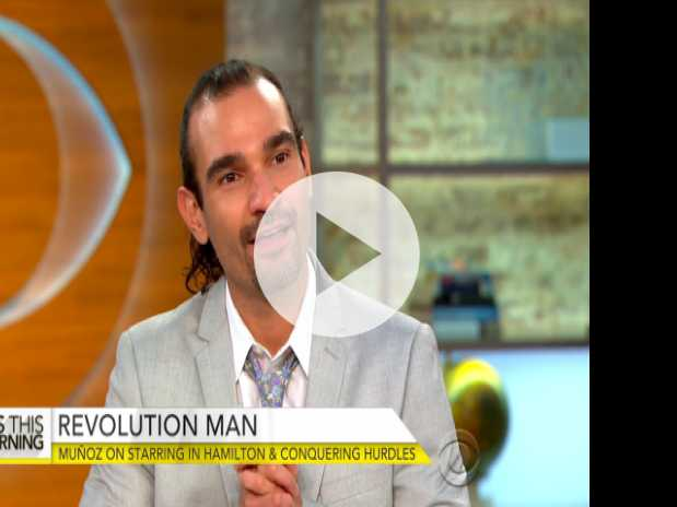 "New ""Hamilton"" Star Javier Muñoz on Hit Musical, Overcoming Life's Struggles"