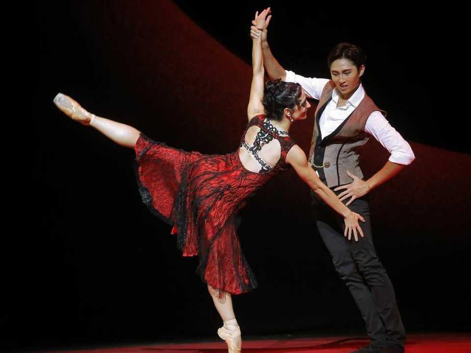 Texas Ballet Theater: Carmen & DGV: Danse a Grande Vitesse