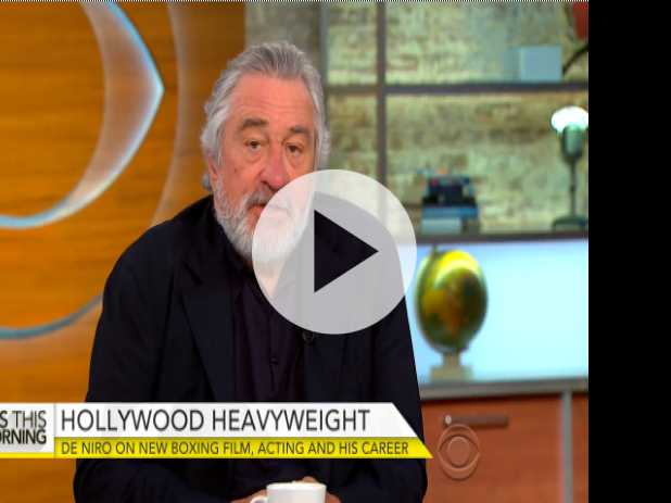 "Robert De Niro Talks ""Hands of Stone"""