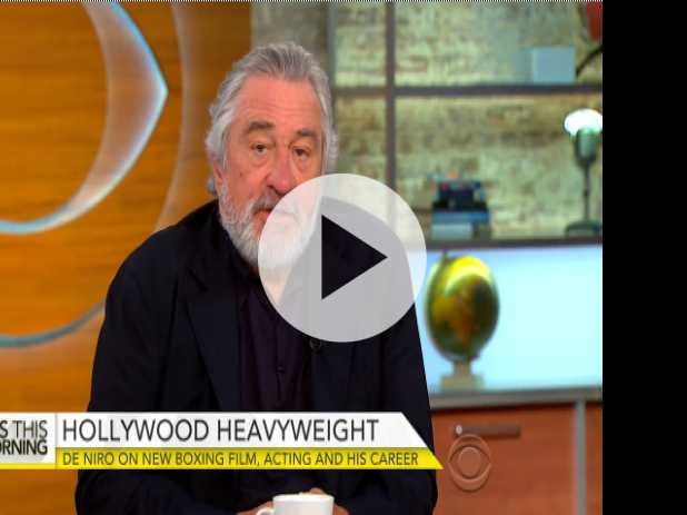 """Robert De Niro Talks """"Hands of Stone"""""""
