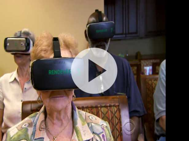 New Technology Takes Seniors on A Virtual Ride