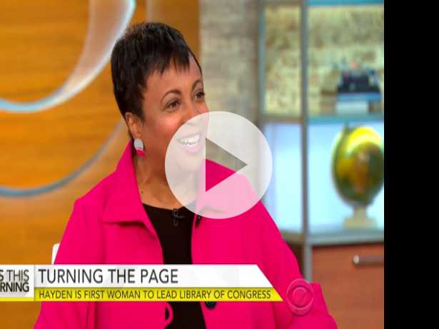 Meet the New Librarian of Congress, Carla Hayden