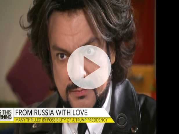 Russian Star Thrilled by Possibility of Trump Presidency