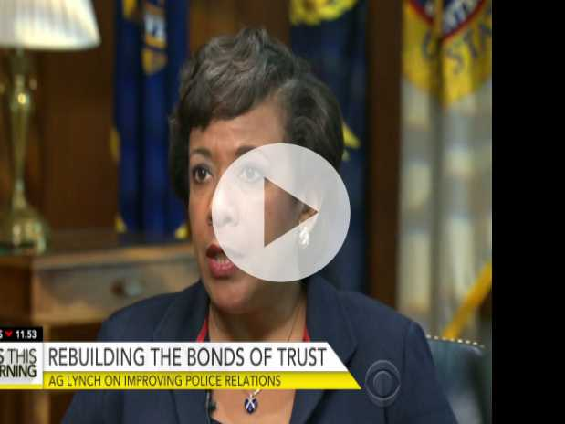 Loretta Lynch on 'Gypsy Cops,' Improving Police Relations
