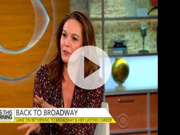 Diane Lane on Returning to Broadway, Lasting Career
