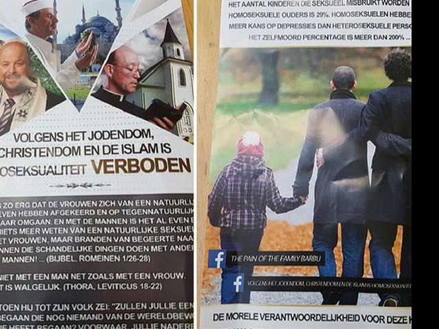 Pamphlets in Amsterdam Call for Extermination of Gays; Group Responsible Identified
