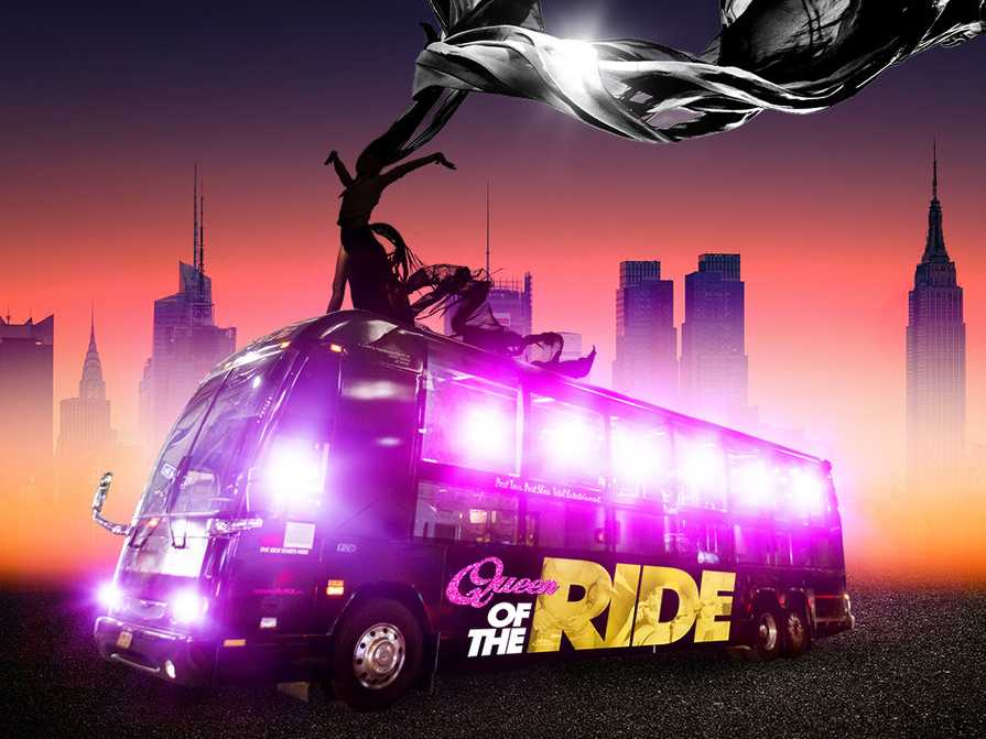 'Queen of the Ride' Gay Interactive Party Bus Tour Launches Maiden Voyage on Nov. 12