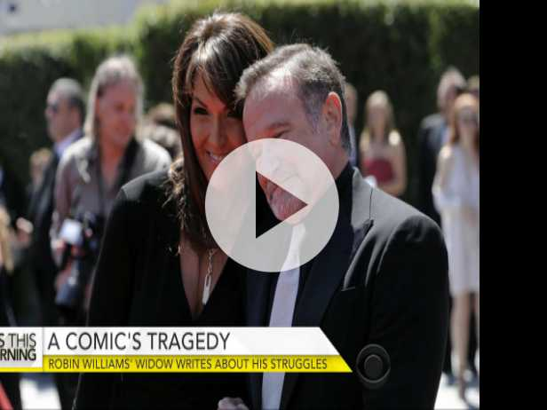 Robin Williams' Widow on Actor's Struggle with Lewy Body Dementia