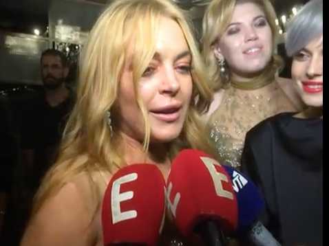 Watch: Check Out Lindsay Lohan's Bizarre Accent