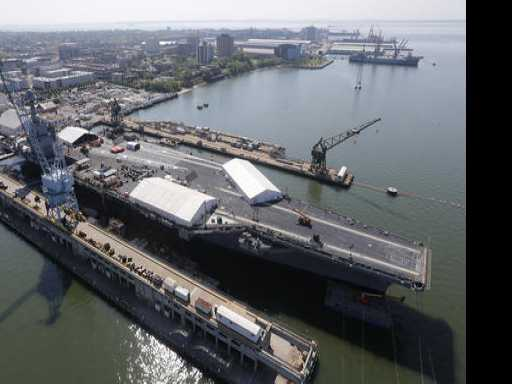 $12.9B, 4.5 Acres: Navy's Next-Generation Aircraft Carrier