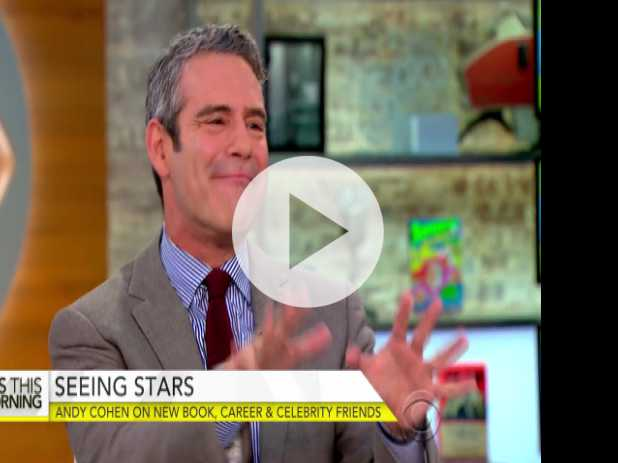 "Andy Cohen on New Diary, ""Superficial,"" Celebrity Friends"