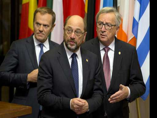 Celebrate Closer EU Union? Not With All That Division