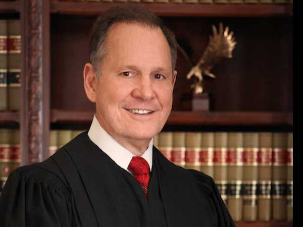Alabama Chief Justice Roy Moore Appeals His Suspension from the Bench