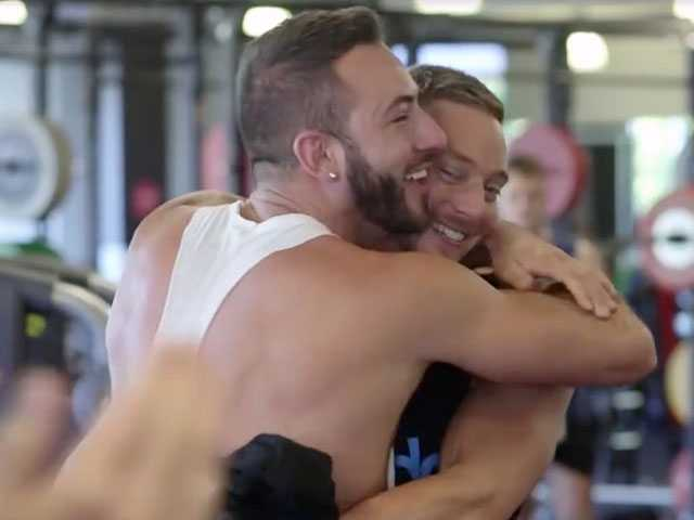 Watch: In Adorable Vid, Australian Man Proposes to Boyfriend with Gym Flashmob