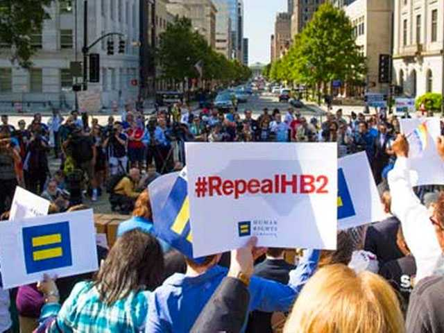 North Carolina Lawmakers Meeting to Consider Anti-LGBT Law's Repeal