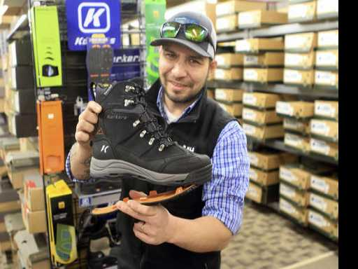 In Icy Alaska, Footwear Options Abound to Stay Upright