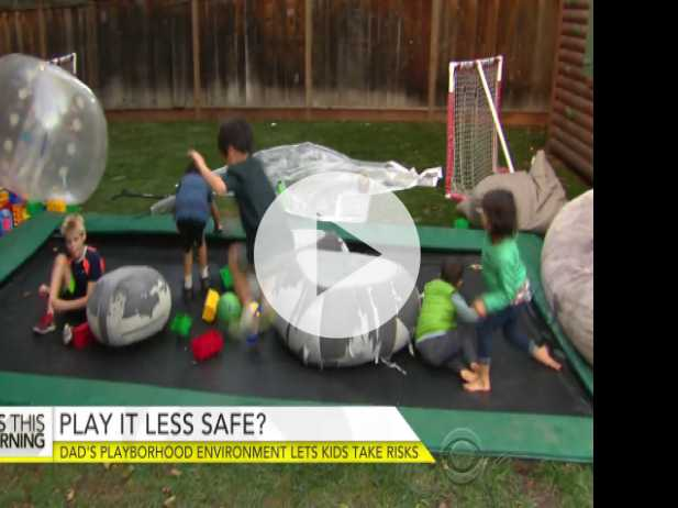 "California Dad's ""Playborhood"" Lets Kids Take Risks"