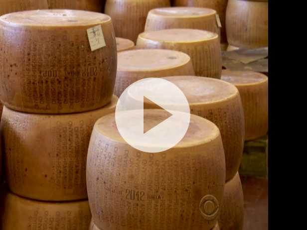 Parmesan Thefts Rise As Thieves Make Off with Millions
