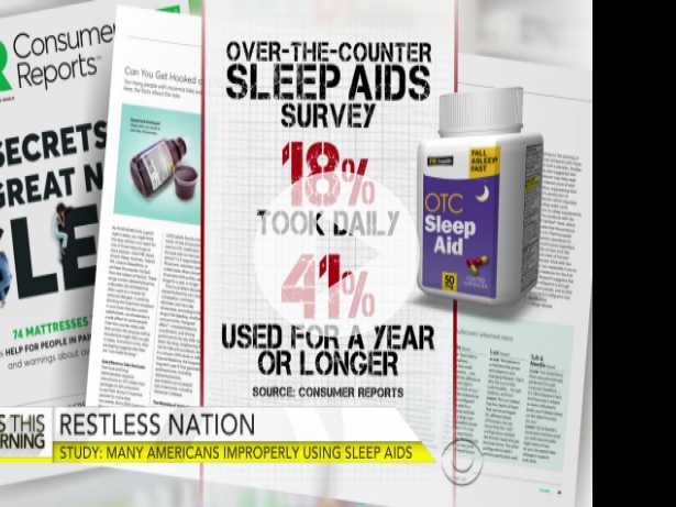 Risks of Over-the-Counter Sleep Aids