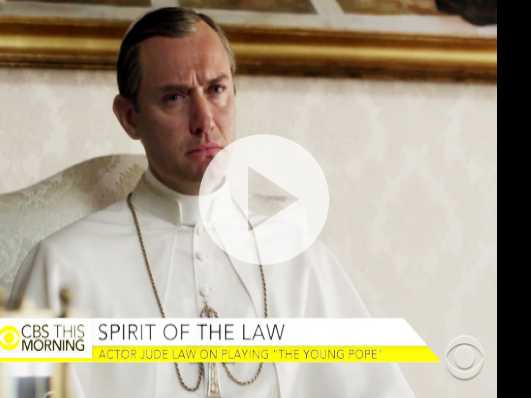 Jude Law Discusses HBO's 'The Young Pope'