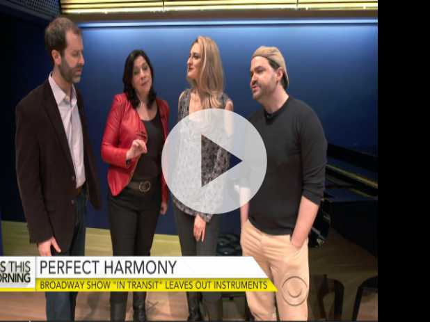 A Cappella Broadway Show 'In Transit' Hits High Note