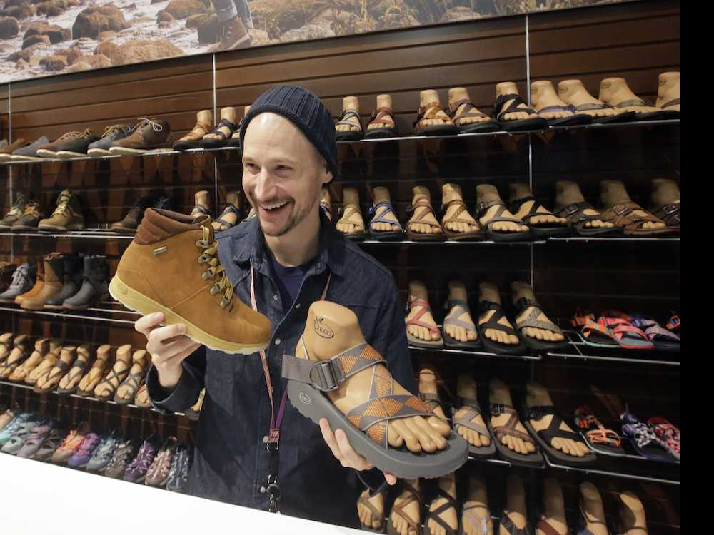 Outdoor Retail Expo Showcases Footwear's Big Business