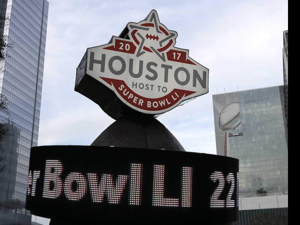 Super Bowl Brings Out Houston's Best