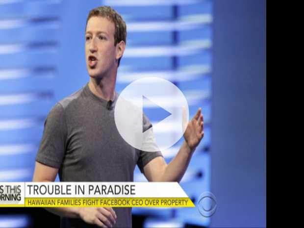 Hawaiians Fight Mark Zuckerberg Over Land Purchase