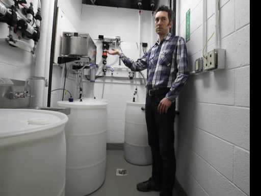 Special Toilet at U. Mich. Takes Aim at Urine-to-Fertilizer Technology