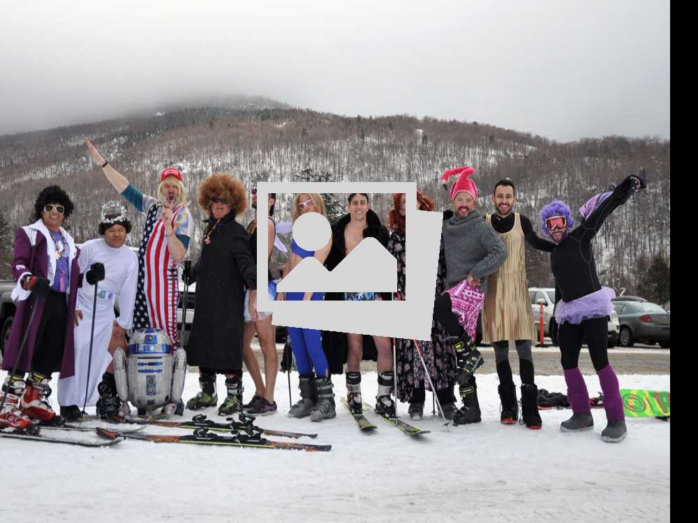 Winter Rendezvous 2017: Downhill Costume Drag Competition @ Stowe Mountain Resort, January 21, 2017