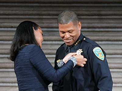 New SFPD Chief Pledges Safety, Respect