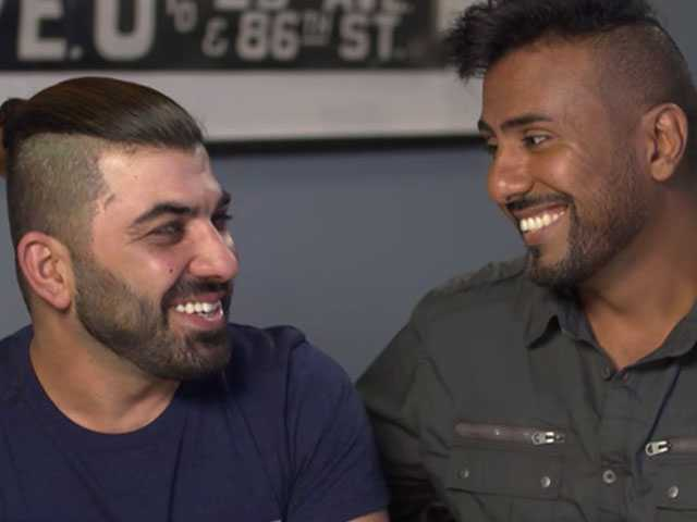 Watch: Gay Iraqi Soldiers Who Fell in Love During War Bring Their Story to 'Ellen'