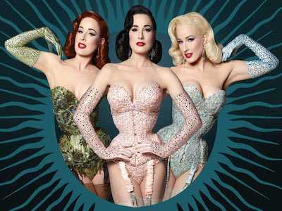 Dita Von Teese Back with 'The Art of the Teese'
