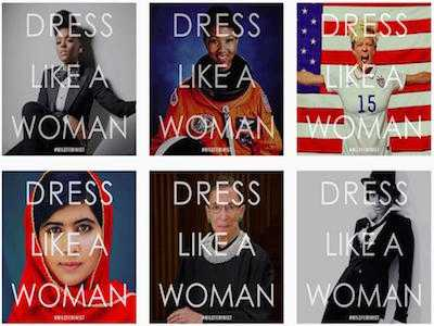 Trump's Directive to 'Dress Like Women' Causes Social Media Backlash