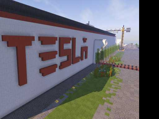 Seeking Attention, Lithuania Builds Virtual Tesla Factory