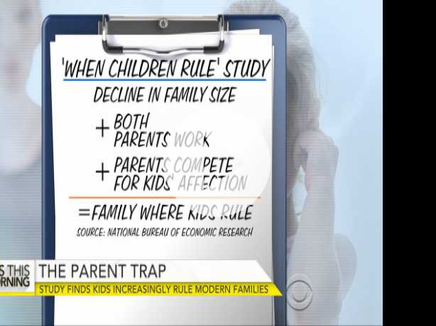 Kids Ruling Modern Families?