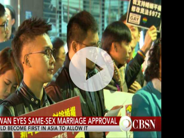 Marriage Equality Coming to Taiwan?