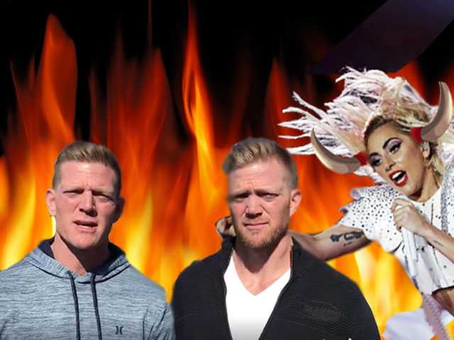 Watch: Anti-LGBT Benham Bros. Boycott Super Bowl Halftime by Praying the Gaga Away