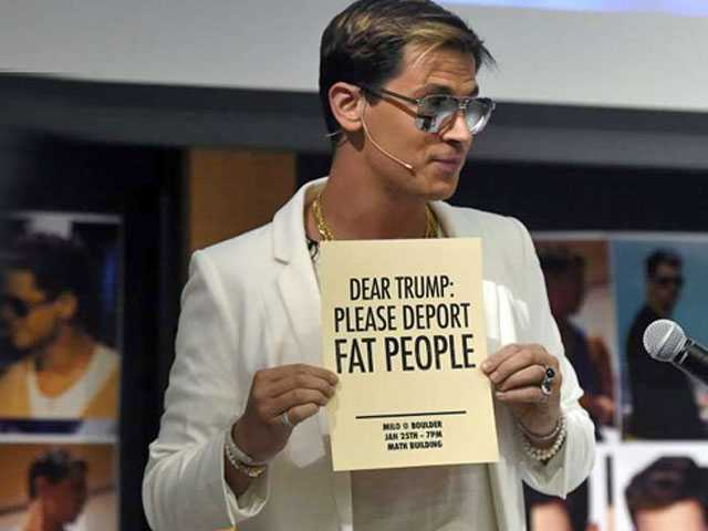 Yiannopoulos Postpones Book to Include Campus Protests