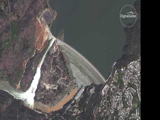 Warning, Escape Route Lack by California Dam