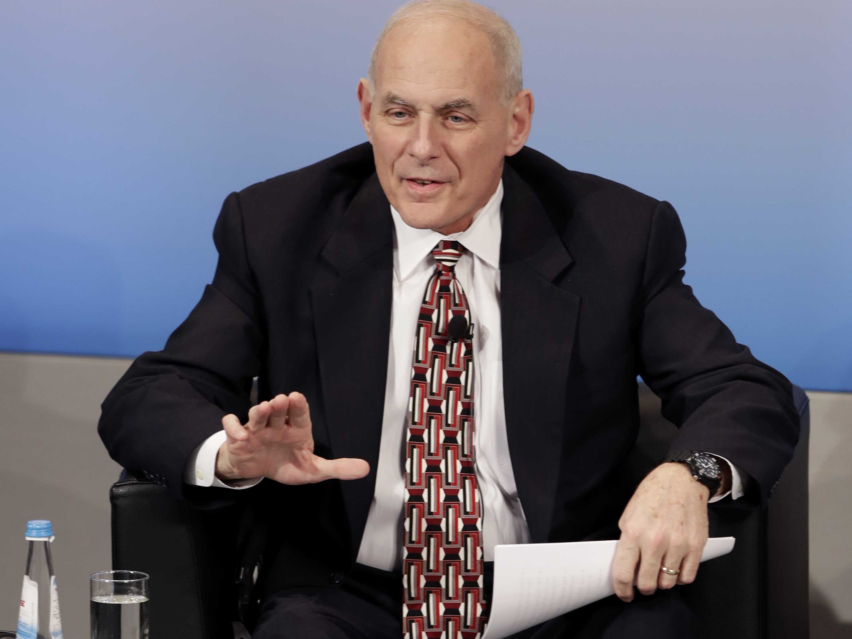 "Kelly: Trump Is Working On A ""Streamlined"" Travel Ban"