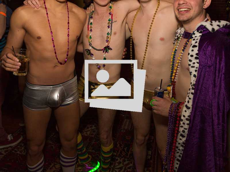 Bare As You Dare Mardi Gras Party @ Mirabar :: February 17, 2017