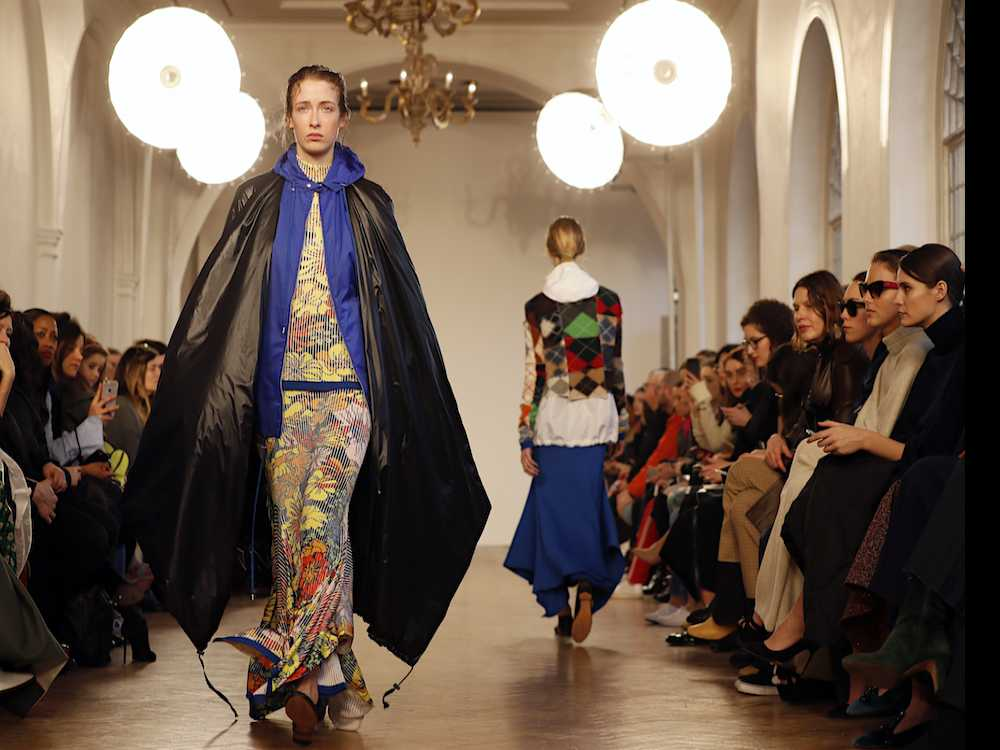 Full-Length Floral at London Fashion Week